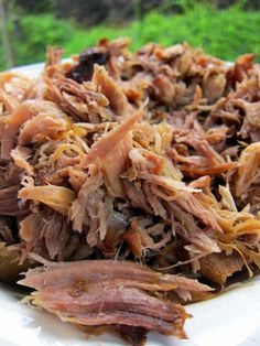 Kalua Pork, add spinach during the last 10 minutes of cooking in the crock pot and serve over rice.
