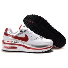 the latest f62c9 a371a Hommes Nike Air Max LTD Blanc Rouge Noir88,98€ Nike Air Max