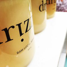 Raw local honey never looked so good! @drizzlelocalhoney showcased their golden goodness @mardagrasyyc. #yycevents #sixfootcanasian @drizzle_local #6FCA