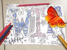 swear word coloring bookmature adults sweary di LaSoffittaDiSte