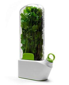 Herb savor! Easier than a wet paper towel in a bag.