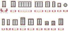 Dwg Adı : Pencere plan ve görünüş çizimleri  İndirme Linki : http://www.dwgindir.com/puanli/puanli-2-boyutlu-dwgler/puanli-cesitli-dwgler/pencere-plan-ve-gorunus-cizimleri.html