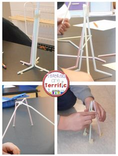 STEM Challenge: Building towers in the STEM Lab! Use two supplies and only a dozen in quantity of each! The task is to build the tallest tower possible. Includes teacher directions, helpful hints, and lab sheets!