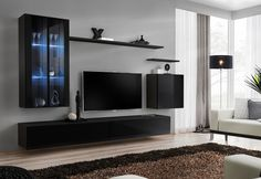 398 great modern wall units images living room contemporary rh pinterest com