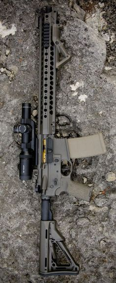 Build Your Sick Custom Assault Rifle Firearm With This Web Interactive Firearm Gun Builder with ALL the Industry Parts - See it yourself before you buy any parts This Took My Money Airsoft Guns, Weapons Guns, Guns And Ammo, Custom Guns, Custom Ar, Ak47, Armas Airsoft, Ar Rifle, Ar 15 Builds