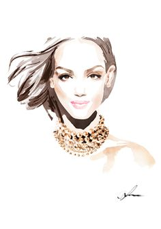 shu84: Christian David Moore Fashion Illustrations