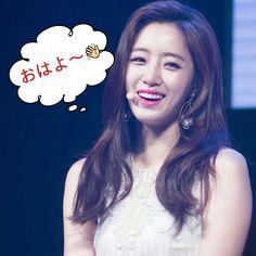 "49 Likes, 4 Comments - ウンジョン名人 운정 명인 (@kkokook30) on Instagram: ""#t_ara #eunjung good morning👋😉おはよウンジョンです👋😊☁☔"""