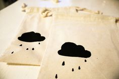cloud - favor bags