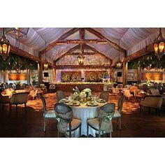 Never think all tents are white! This one was made to look like an elegant barn! ~ Revelry Event Designers