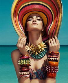 Barbara Fialho для журнала Harper's Bazaar Mexico