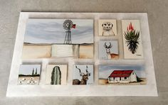 Glass Panels, Fused Glass, Gallery Wall, Collage, Frame, Home Decor, Picture Frame, Collages, Decoration Home