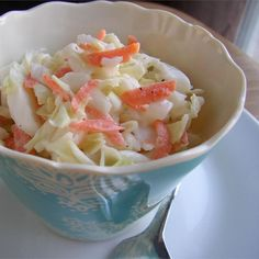 """Aw-some Coleslaw I """"Best dressing ever - my family asked for more and literally scraped the bowl."""""""