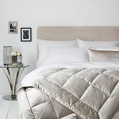 Buy John Lewis Como Bedspread, Silver from our Throws, Blankets & Bedspreads range at John Lewis & Partners. Prestigious Textiles, Cold Night, Bed Spreads, John Lewis, Comforters, New Homes, Relax, Cushions, Blanket