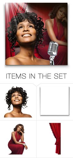 """""""Whitney Houston! ♥"""" by asia-12 ❤ liked on Polyvore featuring art"""