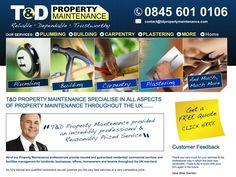 Website Design for T Property Maintenance