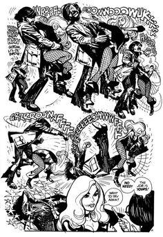 Adventure Comics #418, pg.4 (1972) byAlex Toth