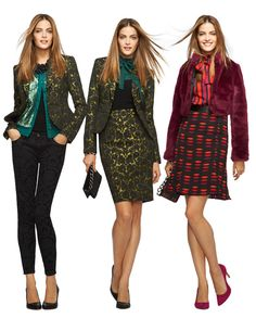 L'Wren Scott for Banana Republic is sparkly perfect. In stores Dec 5th!