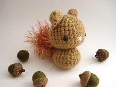 squirrels, copper squirreli, amigurumi squirrel, crochet amigurumi, children toys, baby toys, homes, diy, kids toys
