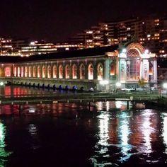 #geneva #geneve #genève #bfm #night #lights #reflection