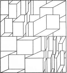 Lineaire Lijnen die blokken vormen