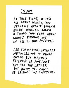 Really loving these Life Tips by Adam J. Kurtz. (Did you know he is a Tattly artist?)