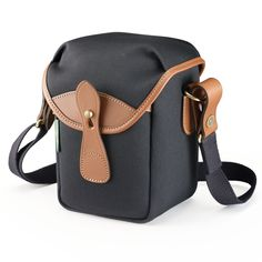 Billingham 72 Black Canvas and Tan Leather Camera Bag | Harrison Cameras
