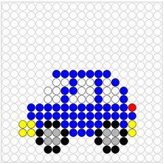Finger Gym, Diy Perler Beads, Fuse Beads, Cross Stitch Designs, Activities For Kids, Coasters, Lego, Preschool, Crafts