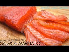 SALMÓN 🐡 MARINADO, 🍣 tipo NORUEGO en 48 HORAS (fácil y económica). - YouTube