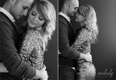 First Anniversary Portraits - Glamour Photography - Couples Portraits