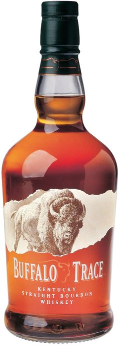 Buffalo Trace Kentucky Straight Bourbon #Whiskey.  This #bourbon, which is aged for a minimum of eight years, is the flagship product of America's oldest continuously operating distillery. | @Caskers