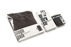 Underwear packaging by Max Sabandar, via Behance