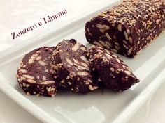 Salame di cioccolato - ricetta senza burro