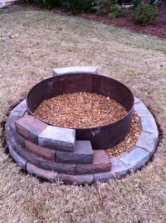 Nice DIY firepit project.