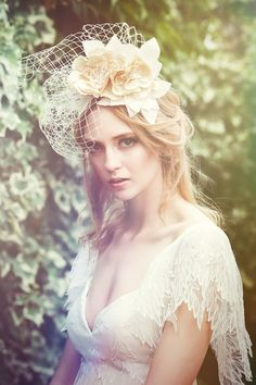 Magical Bespoke Hair Accessories from Three Sunbeams.
