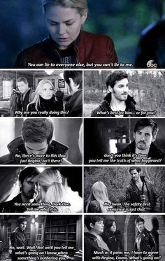 You can lie to everyone else but you can't lie to me - Hook