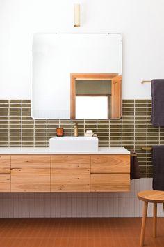 Search our triumphed bathroom renovation Boho Bathroom, Bathroom Renos, Simple Bathroom, Modern Bathroom, Modern Baths, Master Bathroom, Bathroom Design Inspiration, Bathroom Interior Design, Terrazzo