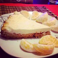 Pečený cheesecake z vloček a tvarohu   ... kde je jídlo zdravé a levné.