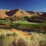 Hole 17 Green at Quail Hollow Golf Club in Boise, ID  http://boise.thecleaningauthority.com/   #cleaning #housecleaning #maid #housekeeping #service #boise #authority