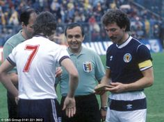 Graeme Souness v England 1985
