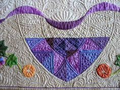 """Sewing & Quilt Gallery: Bloggers Quilt Festival:  """"Intertwined""""  (detail)"""