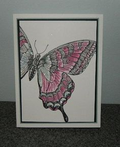 Swallowtail Card by Dee S. - Cards and Paper Crafts at Splitcoaststampers