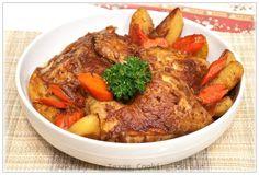 Pinay In Texas Cooking Corner: Guest Post at Exquisite Niche Featuring Chicken Estofado