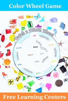 Color Wheel Photo Matching Game
