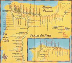 Free Camino de Santiago Maps Download Camino Frances Map