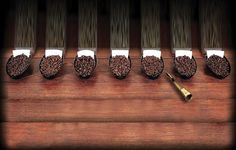 Select blends from the coffee belt of the world