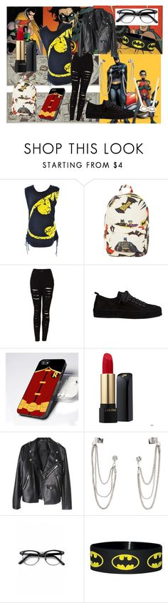 """""""•29"""" by valerieharperjis ❤ liked on Polyvore featuring Poizen Industries, O-Mighty, The Ragged Priest, Ann Demeulemeester, Lancôme, H&M, Retrò and With Love From CA"""