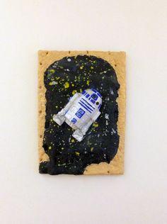 Star Wars Pop Tart - R2D2 by YouArtWhatYouEat on Etsy https://www.etsy.com/listing/229692761/star-wars-pop-tart-r2d2