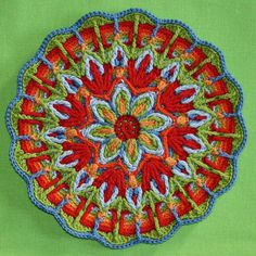 crochet overlay - mandalas on Pinterest | 63 Pins