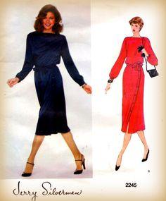 Uncut Sewing Pattern Vintage 1980s Vogue by mmmsvintagepatterns