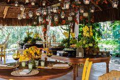 Flores de casamento: decoração de outono da Maria Lourdes de Cunha com flores amarelas  -  Foto RvOnkruger Fotografia